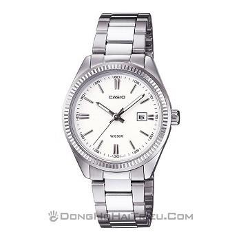 30+ mẫu đồng hồ ý nghĩa trong ngày 8/3 tặng mẹ và vợ - Ảnh: Casio LTP-1302D-7A1VDF