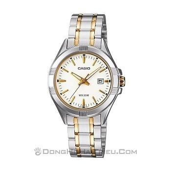 30+ mẫu đồng hồ ý nghĩa trong ngày 8/3 tặng mẹ và vợ - Ảnh: Casio LTP-1308SG-7AVDF