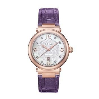 30+ mẫu đồng hồ ý nghĩa trong ngày 8/3 tặng mẹ và vợ - Ảnh: Doxa D182RWP
