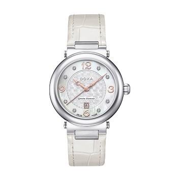 30+ mẫu đồng hồ ý nghĩa trong ngày 8/3 tặng mẹ và vợ - Ảnh: Doxa D182SWH