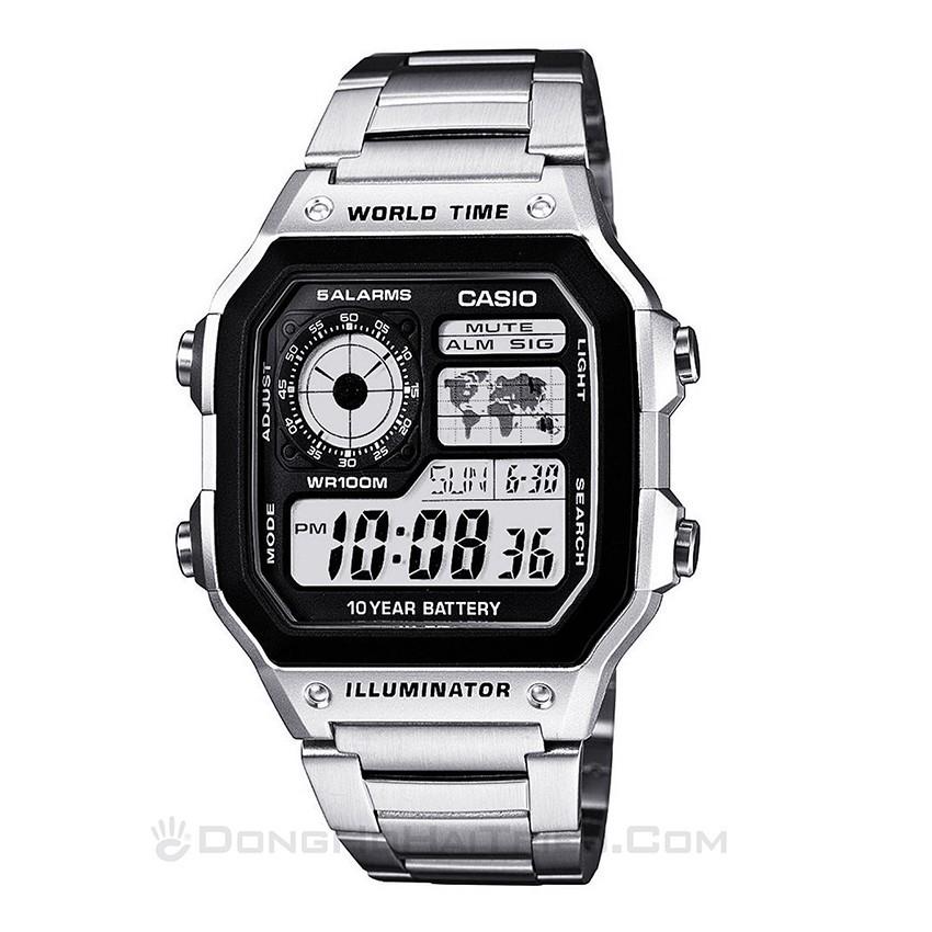 50 mẫu đồng hồ đặc biệt dành riêng cho mùa Valentine 2020 - Ảnh: AE-1200WHD-1AVDF