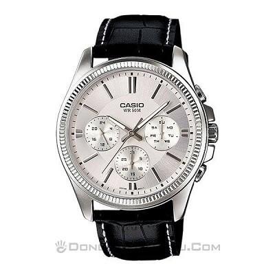 50 mẫu đồng hồ đặc biệt dành riêng cho mùa Valentine 2020 - Ảnh: MTP-1375L-7AVDF