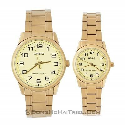 50 mẫu đồng hồ đặc biệt dành riêng cho mùa Valentine 2020 - Ảnh: Casio MTP-V001G-9BUDF & LTP-V001G-9BUDF