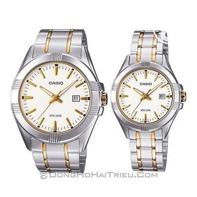 50 mẫu đồng hồ đặc biệt dành riêng cho mùa Valentine 2020 - Ảnh: Casio MTP-1308SG-7AVDF & LTP-1308SG-7AVDF