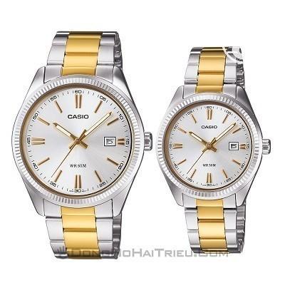 50 mẫu đồng hồ đặc biệt dành riêng cho mùa Valentine 2020 - Ảnh: Casio MTP-1302SG-7AVDF & LTP-1302SG-7AVDF