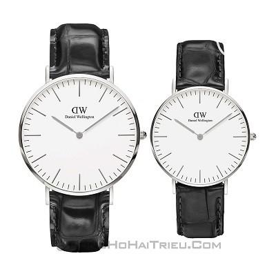 50 mẫu đồng hồ đặc biệt dành riêng cho mùa Valentine 2020 - Ảnh: Daniel Wellington DW00100028 & DW00100058