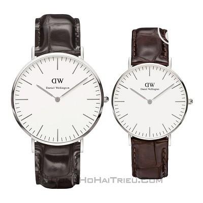 50 mẫu đồng hồ đặc biệt dành riêng cho mùa Valentine 2020 - Ảnh: Daniel Wellington DW00100025 & DW00100055