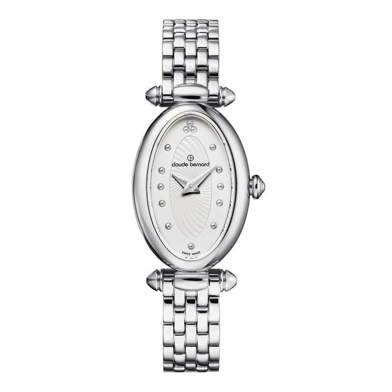 Tổng hợp 30 mẫu đồng hồ nữ mặt nhỏ dưới 29mm bán chạy nhất - Ảnh: Claude Bernard 20210.3M.AIN
