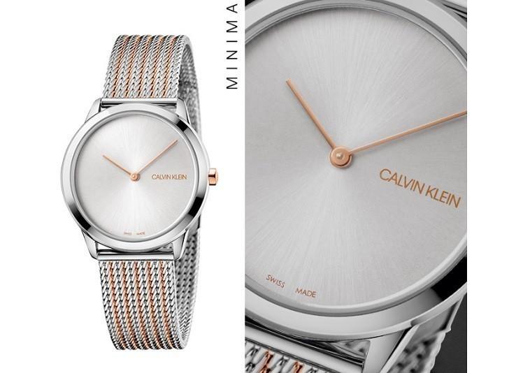 Đồng hồ Calvin Klein K3M22B26 chính hãng, chuẩn Thụy Sỹ - Ảnh: 3