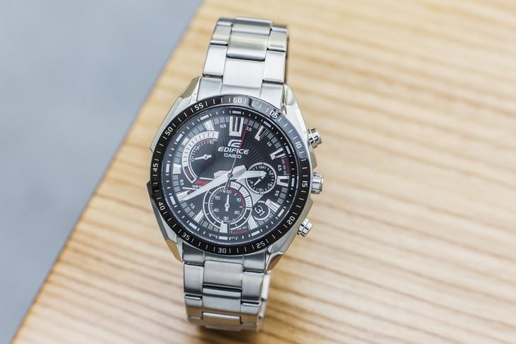 Đồng hồ Casio EFR-570DB-1AVUDF: Nguồn cảm hứng từ máy bay - Ảnh: 3