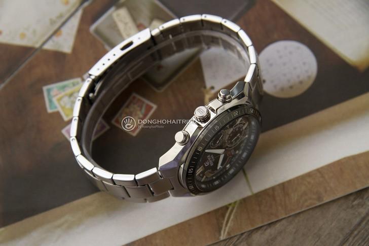 Đồng hồ Casio EFR-570DB-1AVUDF: Nguồn cảm hứng từ máy bay - Ảnh: 5