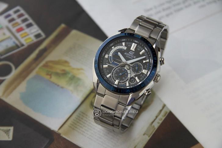 Đồng hồ Casio EFR-570DB-1BVUDF thiết kế thể thao ấn tượng - Ảnh 2