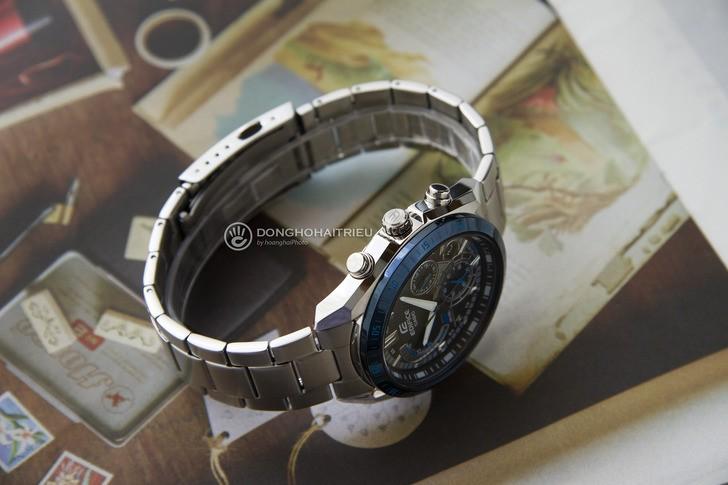 Đồng hồ Casio EFR-570DB-1BVUDF thiết kế thể thao ấn tượng - Ảnh 5