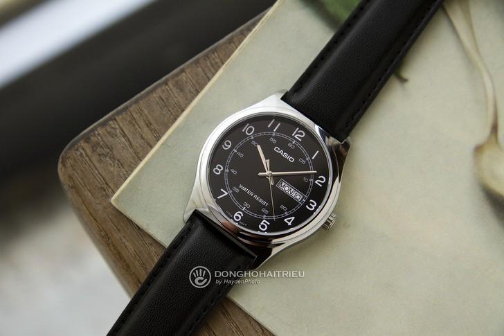 Đồng hồ Casio MTP-V006L-1B2UDF giá rẻ, thay pin miễn phí - Ảnh 1