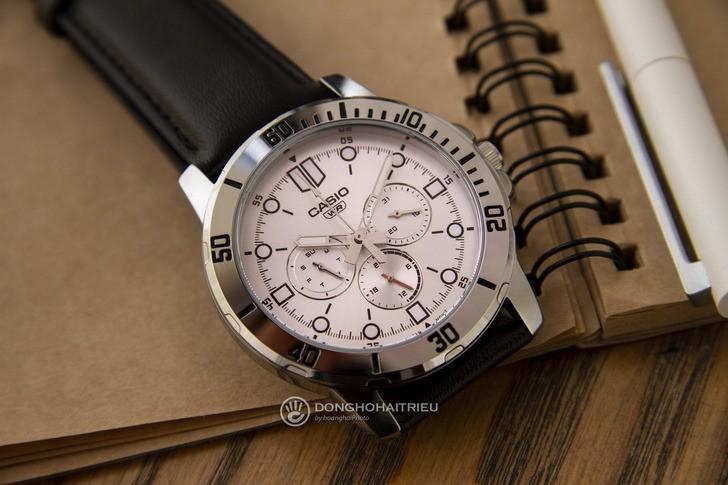 Đồng hồ Casio MTP-VD300L-7EUDF thiết kế thể thao nam tính - Ảnh 1