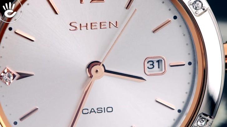 Đồng hồ Casio SHE-4533D-7AUDF giá rẻ, thay pin miễn phí - Ảnh 7