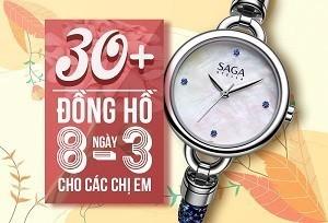 30+ mẫu đồng hồ ý nghĩa trong ngày 8/3 tặng các chị em phụ nữ