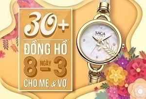 30+ mẫu đồng hồ ý nghĩa trong ngày 8/3 tặng mẹ và vợ
