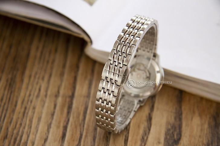 Đồng hồ Doxa D221SSV máy cơ, đính 14 viên kim cương thật - Ảnh: 3