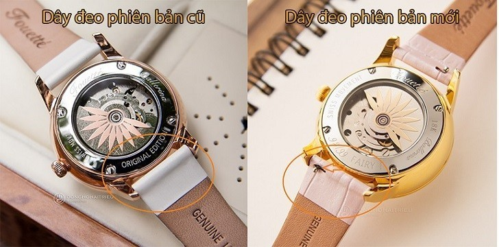 Đồng hồ Fouetté Or-Fairy II đẹp và sang hơn phiên bản cũ - Ảnh: 6
