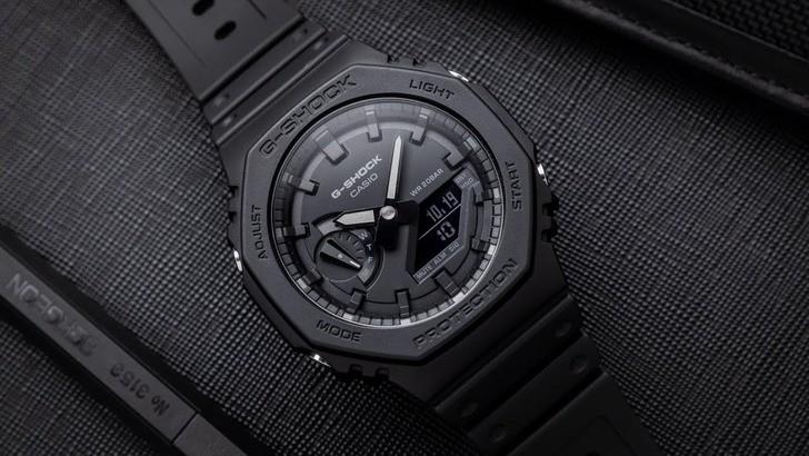 Đồng hồ G-Shock GA-2100-1A1DR giá rẻ, thay pin miễn phí - Ảnh 1