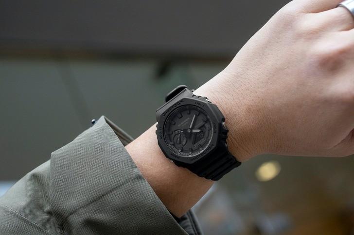 Đồng hồ G-Shock GA-2100-1A1DR giá rẻ, thay pin miễn phí - Ảnh 2