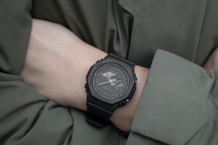 Đồng hồ G-Shock GA-2100-1A1DR giá rẻ, thay pin miễn phí - Ảnh 3
