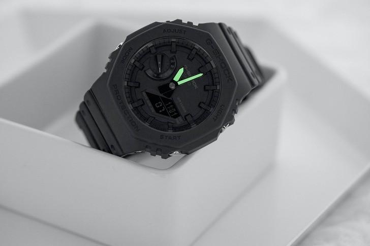 Đồng hồ G-Shock GA-2100-1A1DR giá rẻ, thay pin miễn phí - Ảnh 6