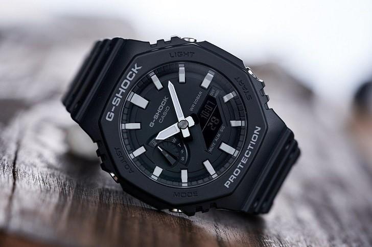 Đồng hồ G-Shock GA-2100-1ADR ấn tượng với thiết kế mặt số - Ảnh 1