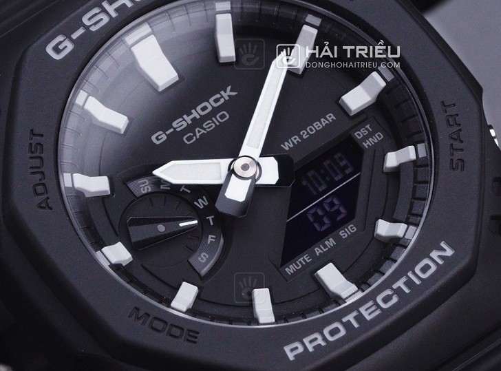 Đồng hồ G-Shock GA-2100-1ADR ấn tượng với thiết kế mặt số - Ảnh 3