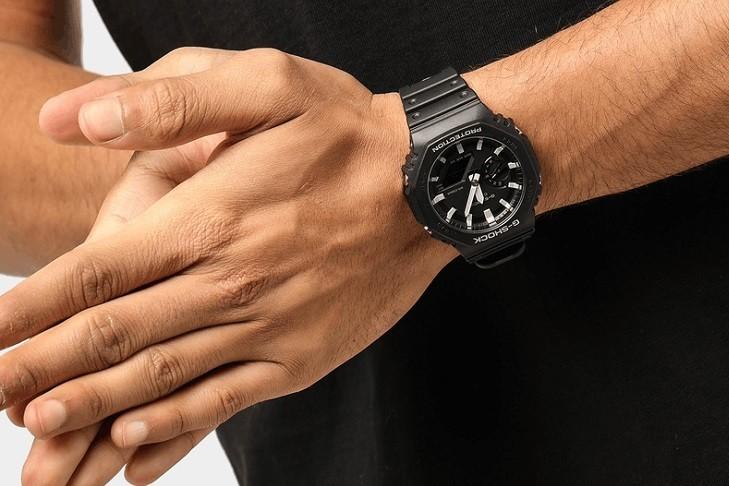 Đồng hồ G-Shock GA-2100-1ADR ấn tượng với thiết kế mặt số - Ảnh 4