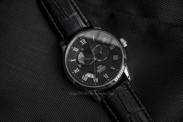 Review đồng hồ Orient SET0T002B0 máy cơ, lịch trăng sao - Hình 1