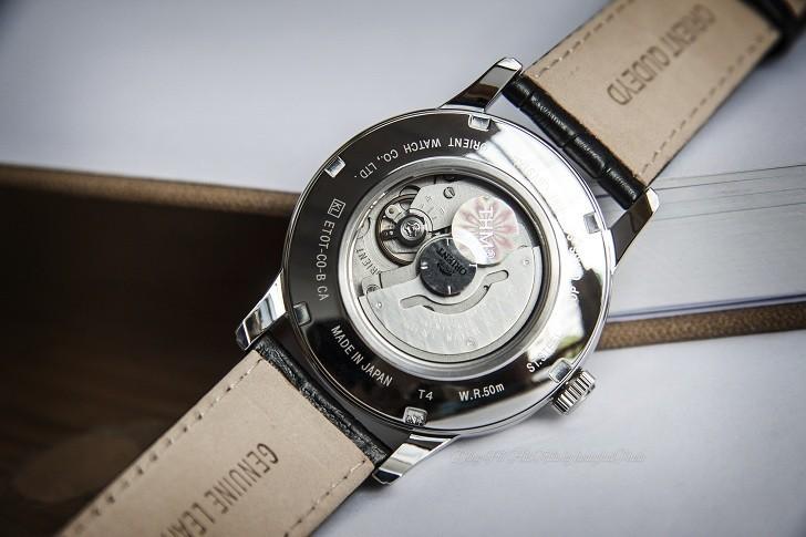 Review đồng hồ Orient SET0T002B0 máy cơ, lịch trăng sao - Hình 4