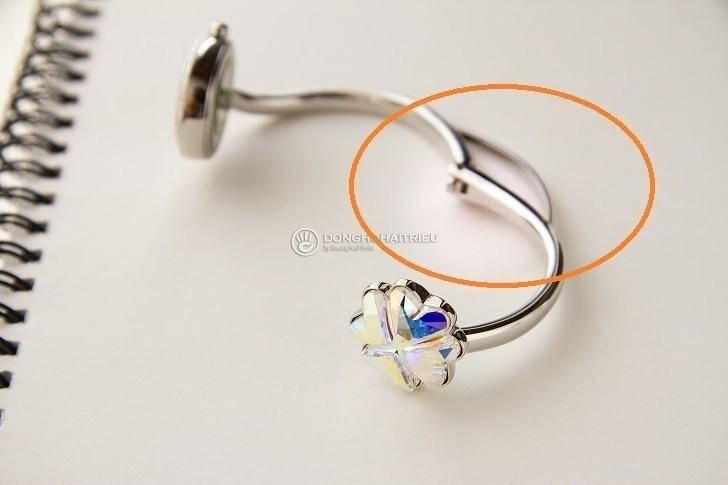 Đồng hồ Saga 53585 SVMESV-2L kết hợp trang sức Swarovski - Ảnh: 4