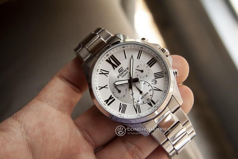 5 thương hiệu đồng hồ nam giá từ 2 đến 3 triệu tốt nhất - Ảnh: Casio EFV-500D-7AVUDF