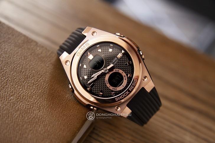 Đồng hồ Baby-G MSG-C100G-1ADR đen phối vàng hồng cá tính - Hình 2