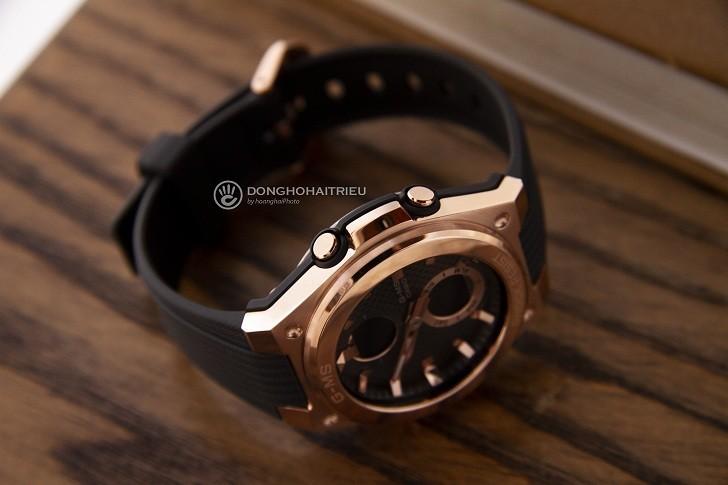 Đồng hồ Baby-G MSG-C100G-1ADR đen phối vàng hồng cá tính - Hình 5