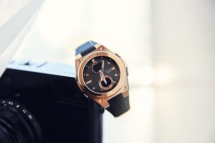 Đồng hồ Baby-G MSG-C100G-1ADR đen phối vàng hồng cá tính - Hình 6