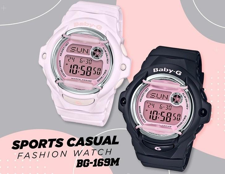Đồng hồ Baby-G MSG S200 4ADR chống nước, nhiều tính năng - Hình 2