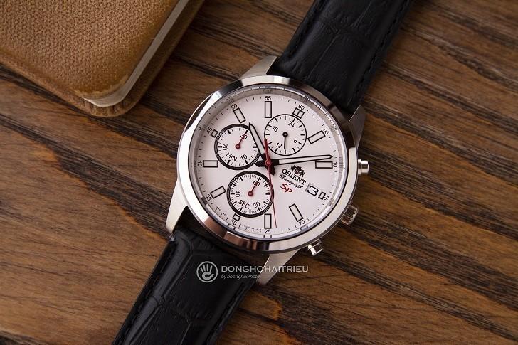 Đồng hồ Orient FKU00006W0 thể thao thiết kế Chronograph - Hình 1