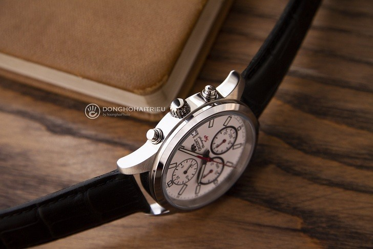 Đồng hồ Orient FKU00006W0 thể thao thiết kế Chronograph - Hình 4