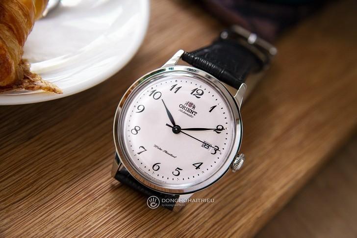 Đồng hồ Orient RA-AC0003S10B Bambino máy cơ, kính cứng cong - Hình 2