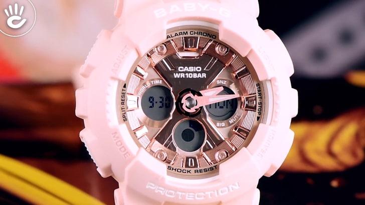 Đồng hồ Baby-G BA-130-4ADR chống sốc, chống nước 100m - Ảnh 2