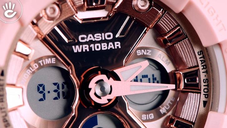 Đồng hồ Baby-G BA-130-4ADR chống sốc, chống nước 100m - Ảnh 3