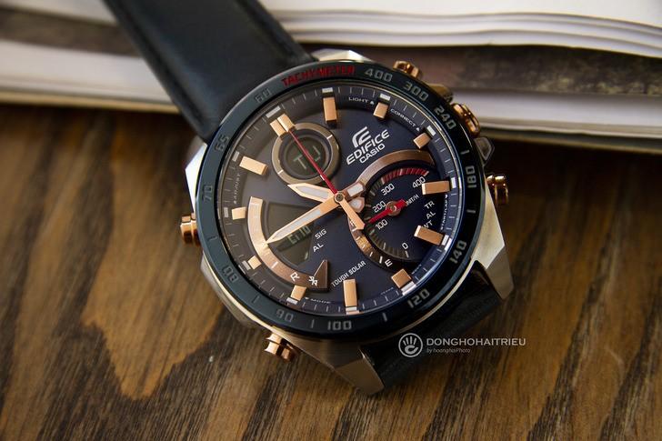 Đồng hồ Casio ECB-900BL-2ADR siêu tính năng, pin tự động sạc - Ảnh 1