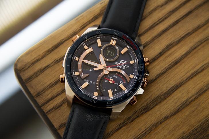 Đồng hồ Casio ECB-900BL-2ADR siêu tính năng, pin tự động sạc - Ảnh 2