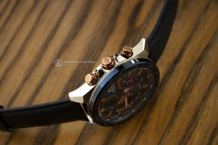 Đồng hồ Casio ECB-900BL-2ADR siêu tính năng, pin tự động sạc - Ảnh 5