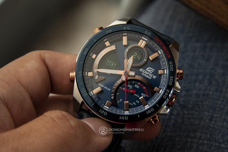 Đồng hồ Casio ECB-900BL-2ADR siêu tính năng, pin tự động sạc - Ảnh 6