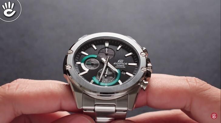Đồng hồ Casio Edifice EFR-S567D-1AVUDF kính chống trầy - Ảnh: 1