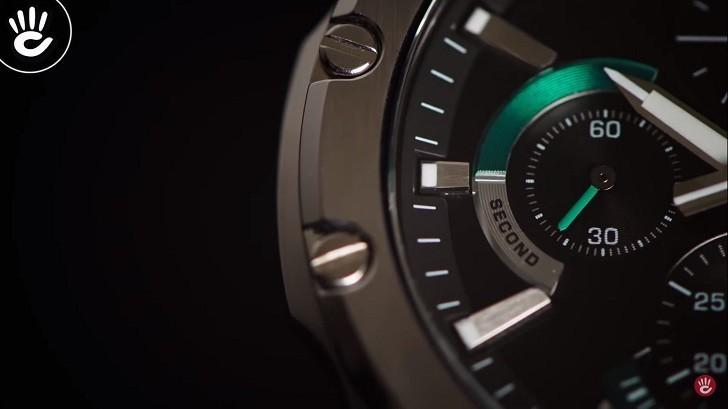 Đồng hồ Casio Edifice EFR-S567D-1AVUDF kính chống trầy - Ảnh: 10